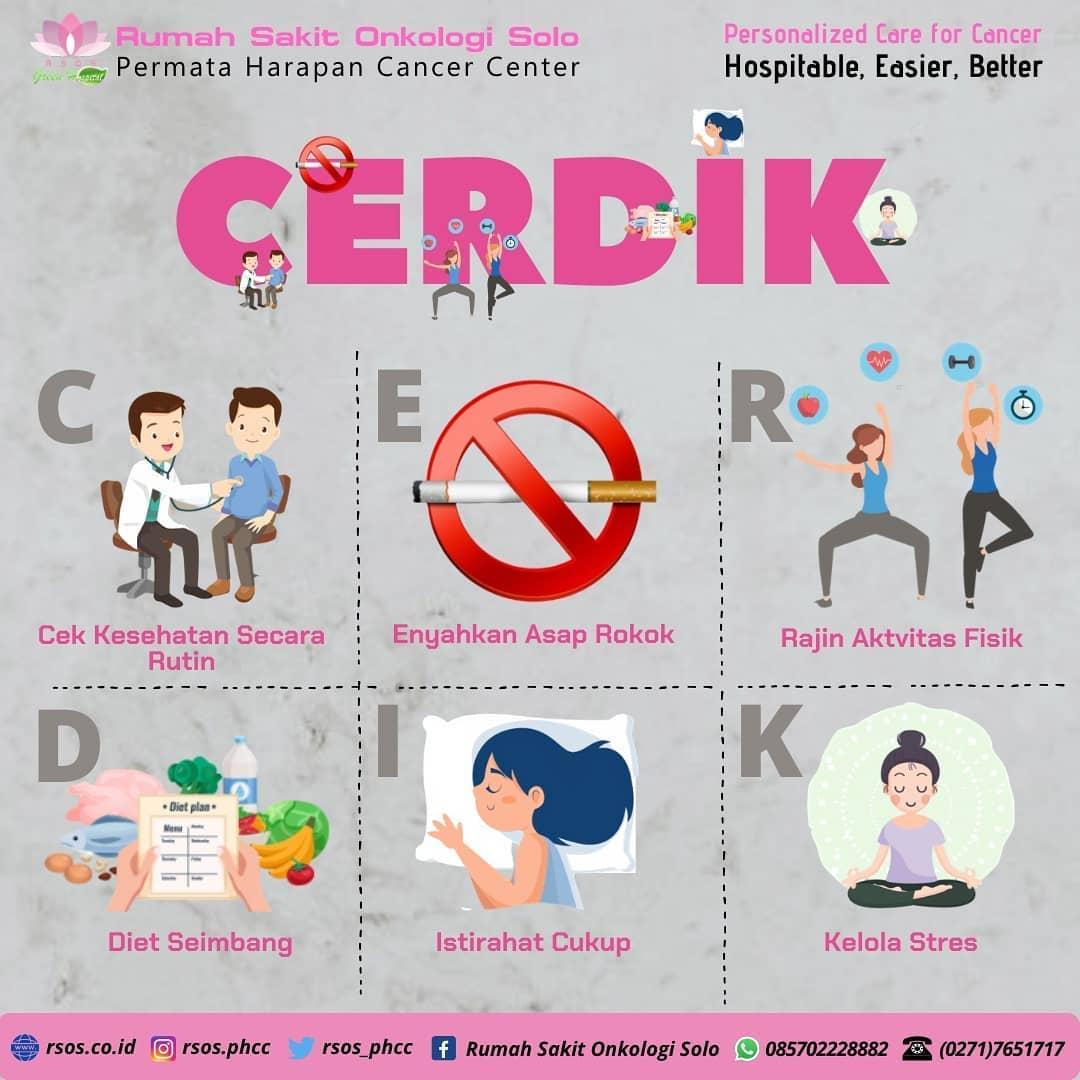 Cegah Kanker Dengan Cerdik