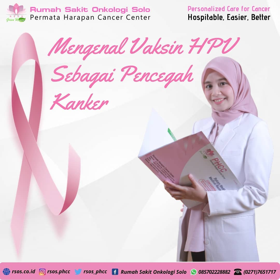Mengenal Vaksin HPV sebagai pencegah Kanker