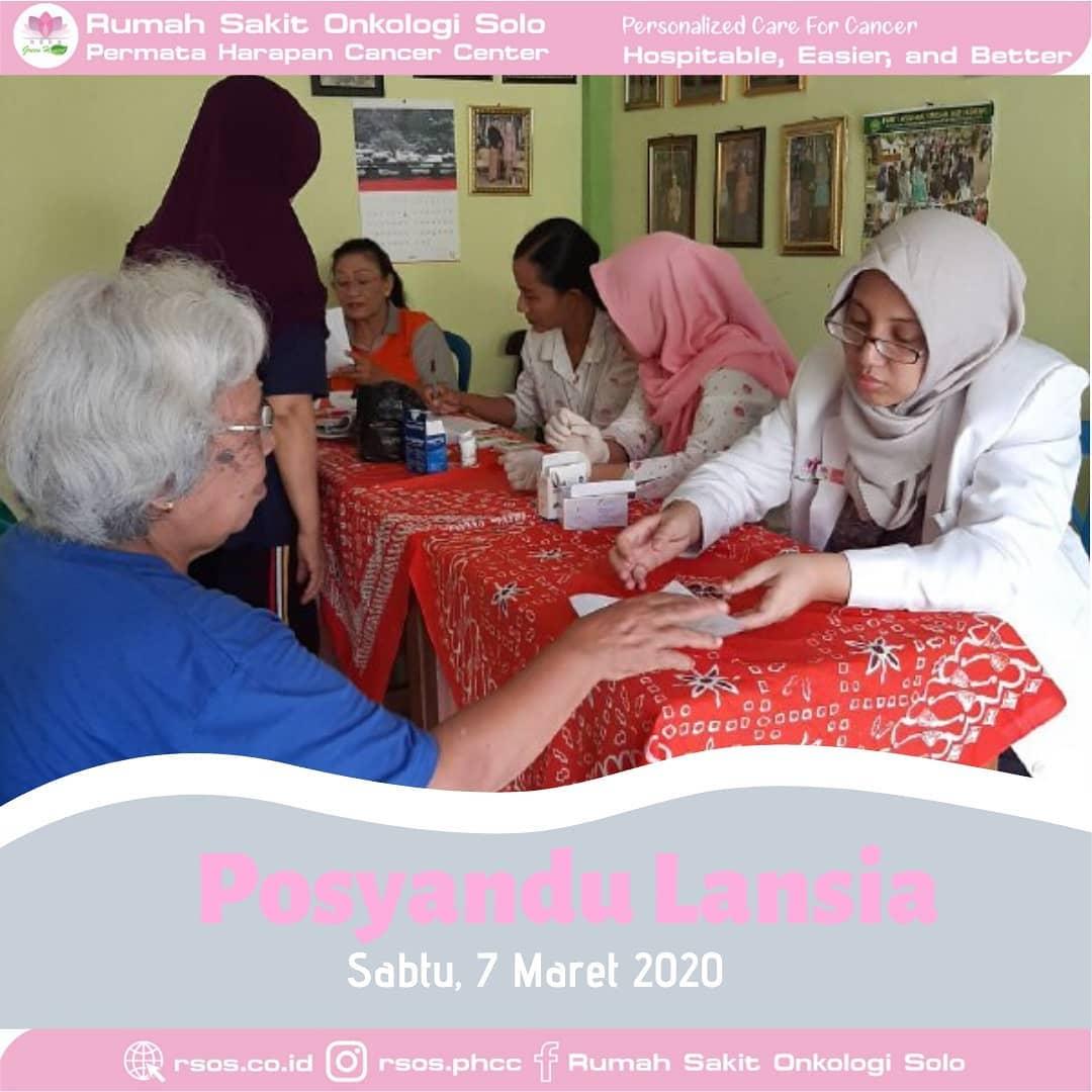 Posyandu Lansia 2020