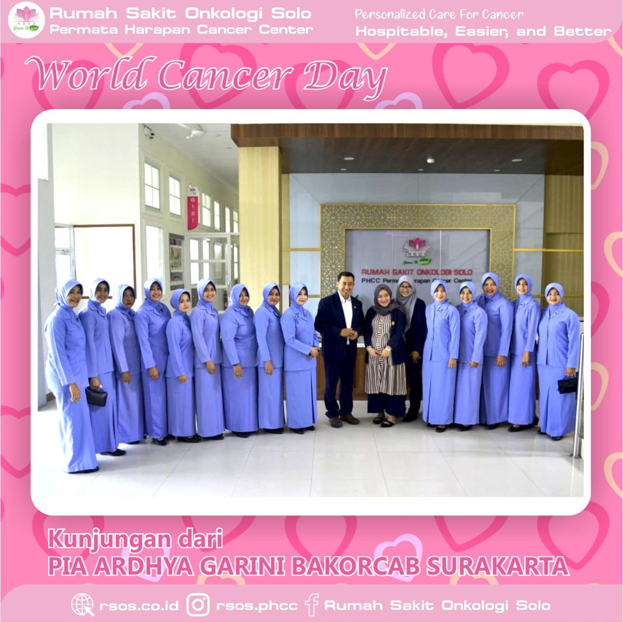 World Cancer Day - 4 Februari 2020